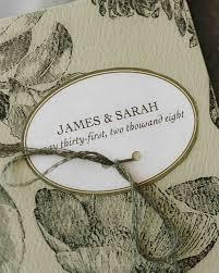 Simple Wedding Ceremony Program Classic Wedding Ceremony Programs Martha Stewart Weddings