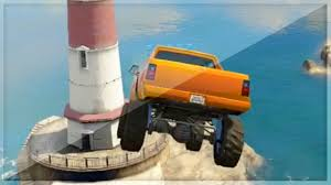 video de monster truck gta 5 funny moments monster trucks can fly gta v online