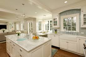 pictures of kitchen islands with sinks kitchen island sink houzz