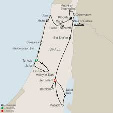 Isreal Map Map Fascinating Israel 2017