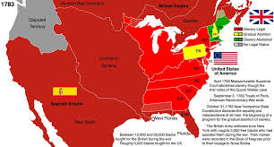 1783 Map Of The United States by Us History And Slavery 1783 By Hillfighter On Deviantart