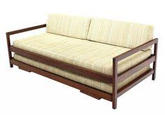 Pull Out Daybed Mid Century Modern Trundle Bed Daybed Sofa Eames Hvidt Era