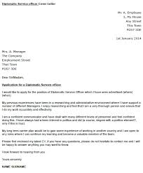 diplomatic service officer cover letter example u2013 cover letters