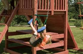 Swing Sets For Small Backyard by Juggling Act Small Swing Set For Smaller Backyards