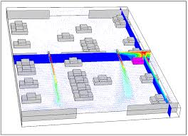cfd hvac analysis simulation fire and smoke extraction jet