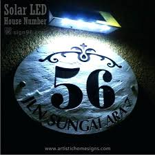 light up address sign led address sign light up address signs solar led house signs