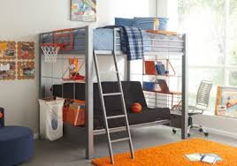 build a bunk gray 4 pc full futon loft bed bunk loft beds metal