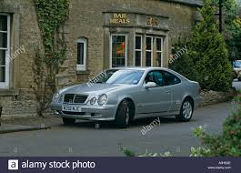 mercedes clk coupe mercedes clk coupe of 2000 1997 to 2003 w208 stock photo