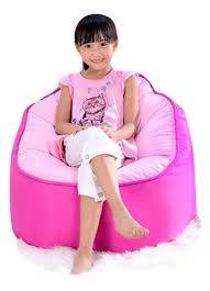 top quality children bean bag kids bean bag with filling pink