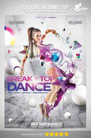 free dance flyer templates great top 35 party and club psd flyer