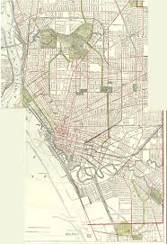 Map Buffalo Olmsted Parks And Parkways In Buffalo 1914 University At