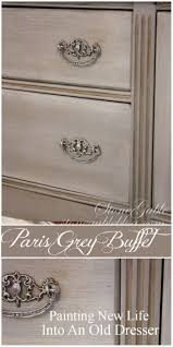 Distressed Grey Bedroom Set Paris Grey Buffet Paris Grey Dark Wax And Paint Finishes