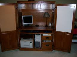 Oak Computer Armoire by Ashley Furniture Computer Armoire Styles Yvotube Com