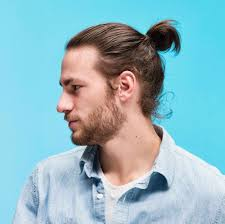 wavy long hair awkward stage men how to grow a man bun 6 steps to rocking the hairdo of the year
