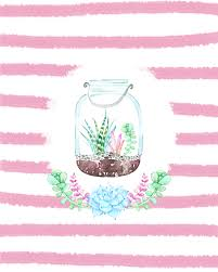 free mason jar printables with succulents the cottage market