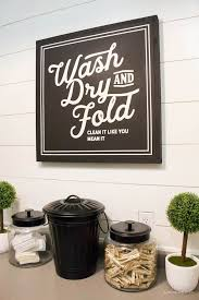 How To Decorate Laundry Room Large Laundry Room Signs Alluring Laundry Room Wash Fold