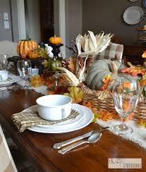 Pottery Barn Fall Decor - pottery barn inspired table setting for fall