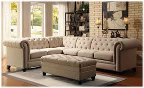 sectional sofa great tufted sectional sofa with chaise 2017 soft
