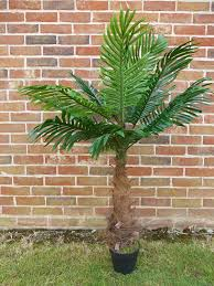 artificial plants 1m 3ft artificial coco palm tree in pot garden or