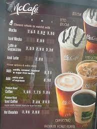 Coffee Mcd mcdonalds coffee flavors coffee drinker