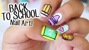 back to nail art 5 easy designs part 1 youtube
