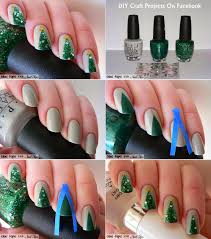 At Home Christmas Trees by At Home Nail Art Easy Christmas Tree Nail Art 2 Hlpmgu U2013 Easy Nail Art