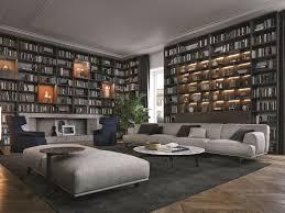 Large Bookshelves by Finding The Best Wall Bookcases In Living Room Bookshelvesdesign Com
