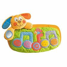 amazon com chicco sleep and play musical puppy crib toy