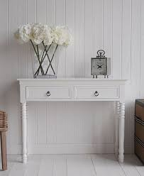 White Hallway Table White Hallway Console Table Centralazdining