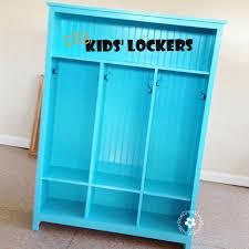 kids lockers make your own storage lockers for kids diy storage
