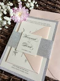 wedding invitations glitter silver and gold wedding invitations 25 silver wedding