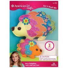 buy the american crafts sew u0026 stuff kit hedgehog at michaels