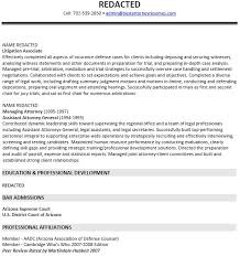 defense attorney sample resume professionally written in house