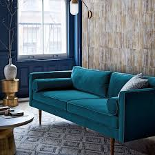 Teal Sofa Set by Best 25 Mid Century Sofa Ideas On Pinterest Mid Century Modern