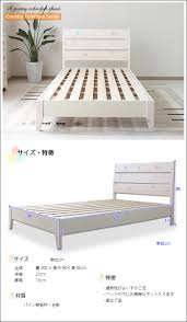 kagunomori rakuten global market cute bed single bed country