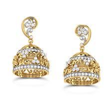 jhumkas earrings buy jhumka earrings designs online at best price india