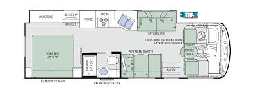 hurricane class a motorhomes floor plans thor motor coach