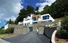 homes built into hillside a contemporary home built into the hillside green house