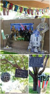Star Wars Birthday Decorations Star Wars Jedi Training Birthday Party