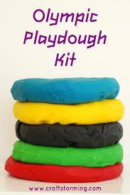 olympic playdough kit u2013 craftstorming