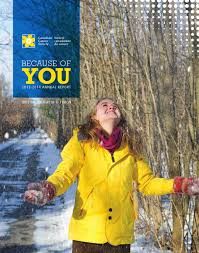 bc and yukon division annual report 2013 2014 by canadian cancer