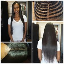 Los Angeles Hair Extensions by No Hair Left Out Full Weave Hair Extensions With Closure Yelp