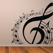 Music Note Wall Decor Musical Note Wall Sticker Music Wall Art