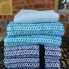 Waffle Weave Kitchen Towels Ellyn U0027s Place Weaving All The Towels