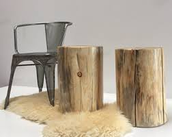 Wood Stump Coffee Table Real Wood Works By Realwoodworks1 On Etsy