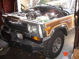 jeep wagoneer lifted 1986 jeep grand wagoneer 4bt