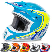 blue motocross helmet fly racing kinetic fullspeed off road racing motocross helmet