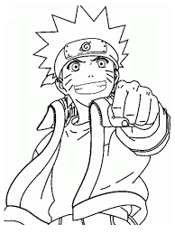 naruto shippuden coloring pages eson me