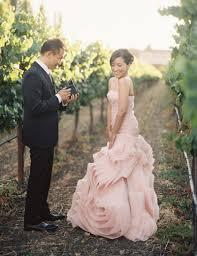 romantic layered ruffles wedding dress trumpet style strapless
