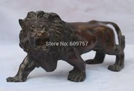 asian lion statues collectiold bronze bronze asian africa lion statue